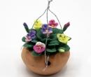 Tc0250 - Pot à fleurs à suspendre
