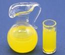Tc0312 - Pichet de jus avec verre