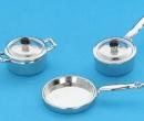 Tc0731 - Auflauf und Silberpfannen