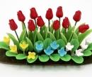 Tc0909 - Plante avec des tulipes