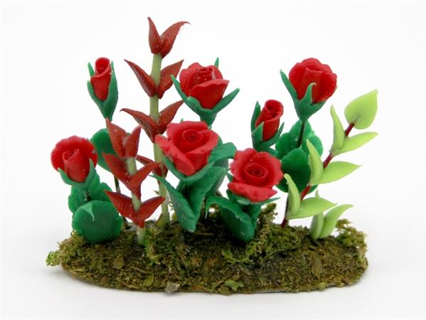 Tc1354 - Plante avec des roses