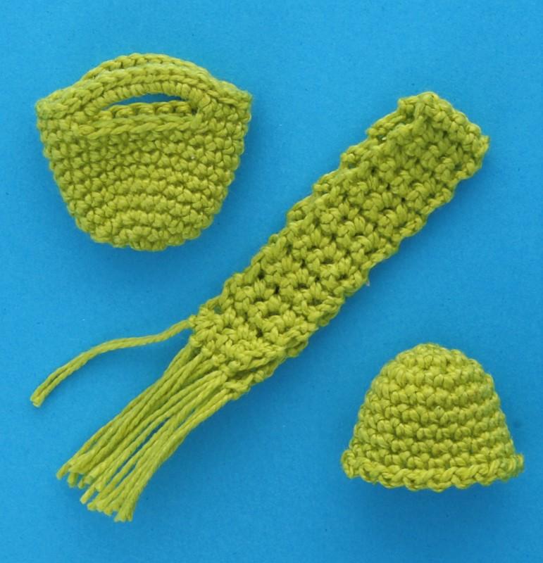 Tc1631 - Ensemble de vêtements verts