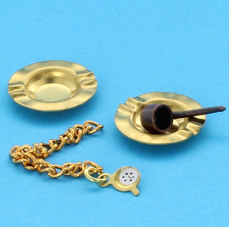 Tc1693 - Pipe avec accessoires