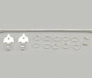 Tc1739 - Bastone estendibile color argento