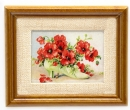Tc1835 - Picture with red flowers