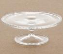 Tc2064 - Plat à tarte en verre