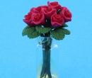 Tc2586 - Jarrón con rosas
