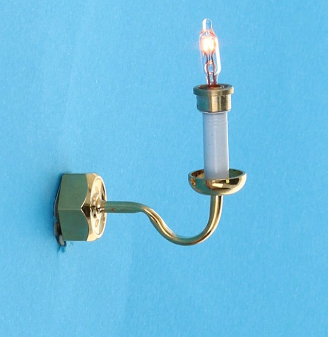 Lp0155 - Wall lamp with one candle