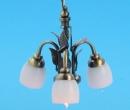 Lp0159 - Lámpara de techo 3 tulipas