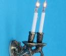 Lp0163 - Applique deux bougies