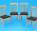 Mb0711 - Pack of four chairs