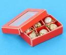 Nv0033 - Boîte de boules doré