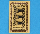 Tc2412 - Sewing hooks and eyes