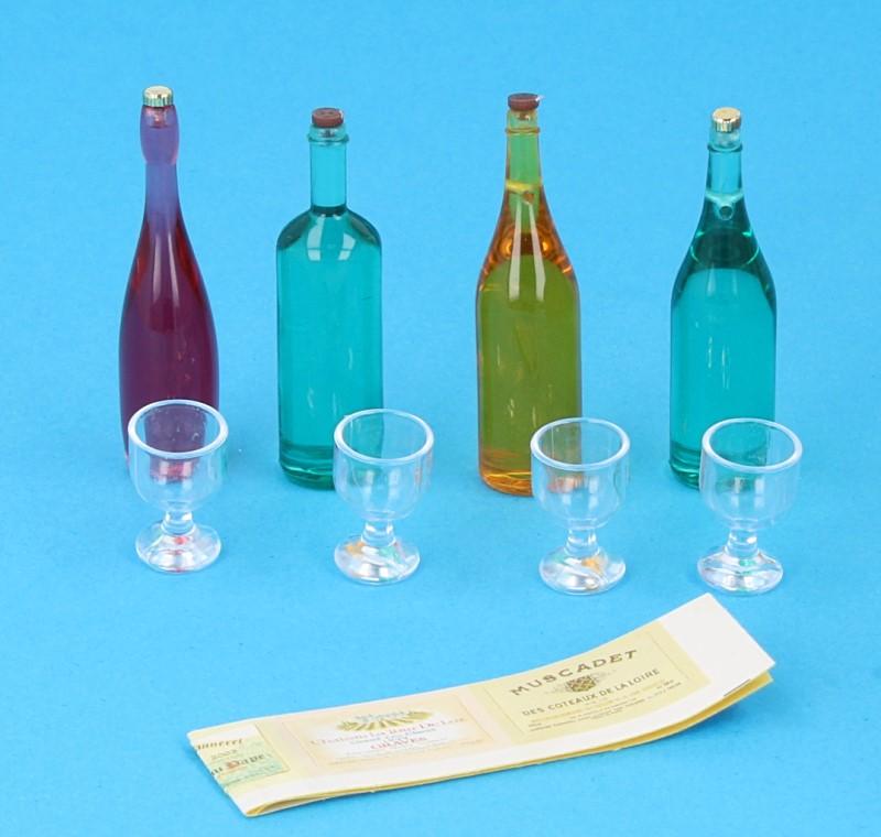 Tc2466 - Juego de botellas