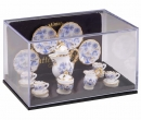 Re13636 - Coffee set with flowers