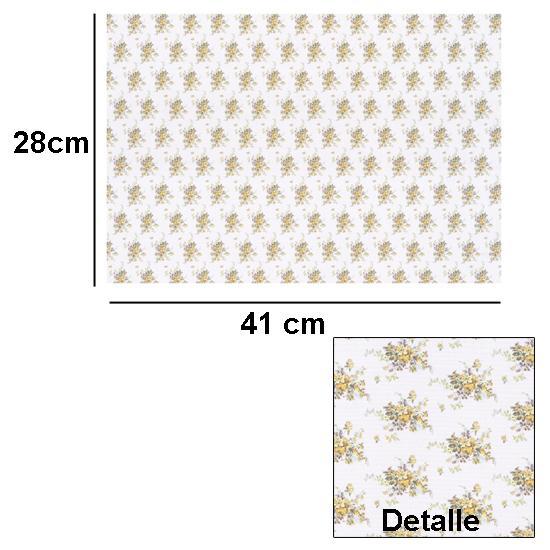 Br1001 - Papier fleurs