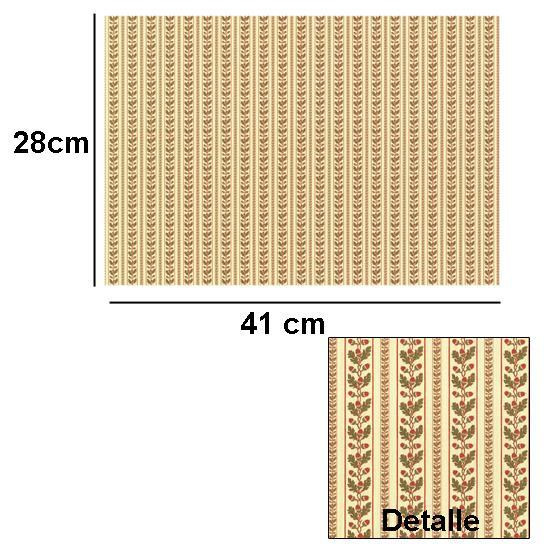 Br1003 - Papier décoré
