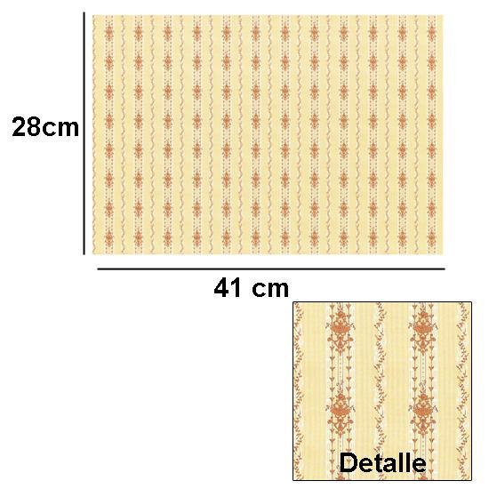 Br1005 - Papier décoré