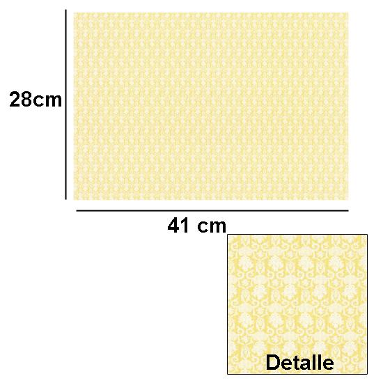 Br1009 - Papier décoré