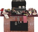 Re17122 - Barbecue con accessori