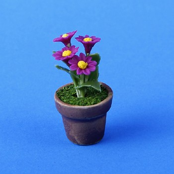 Sm4654 - Maceta con flores