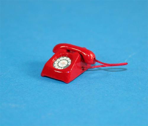 Tc0592 - Teléfono rojo