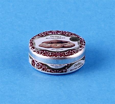 Tc1563 - Boîte métalique décorée