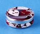 Tc1566 - Decorated tin box