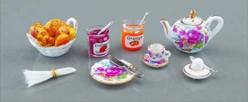Re14486 - Desayuno con mermelada