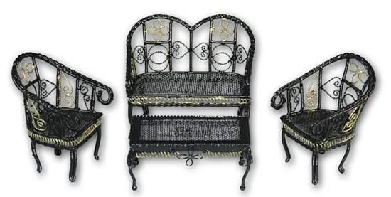 Ch36140 - Metal garden furnitures