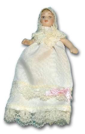 Tc0406 - Bebe vestido bautizo