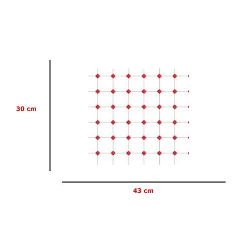Em4523 - Papel rojo y blanco