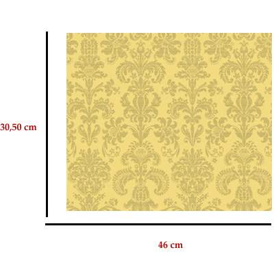 Mm41150 - Papel victoriano amarillo