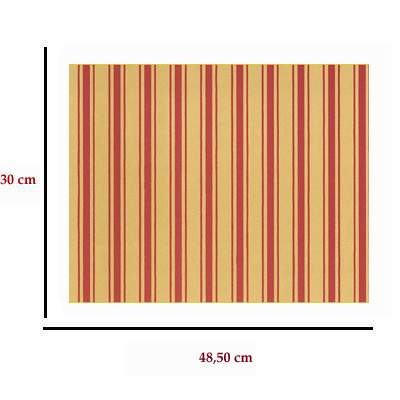 Mm41162 - Wallpaper with red stripes