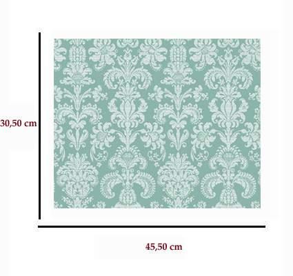 Mm41168 - Papel victoriano verde