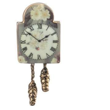 Re14035 - Horloge rose anglaise
