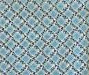TL1332 - Decorated blue fabric