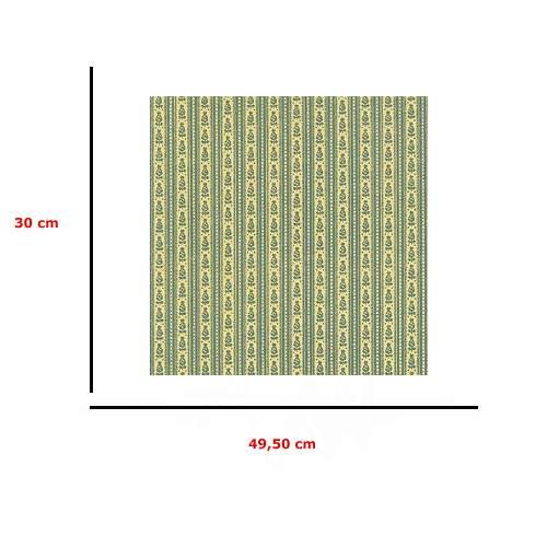 Mm41184 - Papel rayas verdes