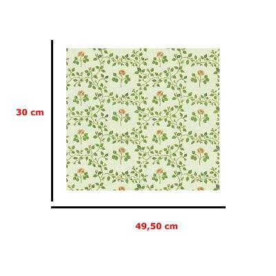 Mm41193 - Papel con flores