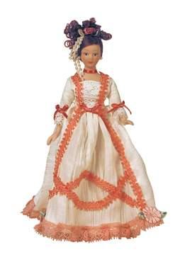 Hb0036 - Dama abito bianco