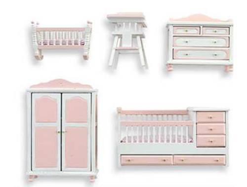 Al10884 - dormitorio infantil rosa