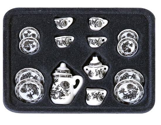 Al12687 - Vajilla decoración negra