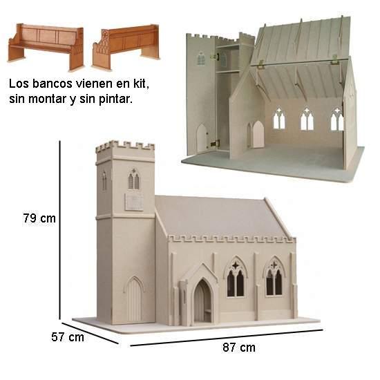 Bm005 - Iglesia en kit