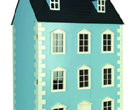 Dh021P - Casa de muñecas Dartmouth azul