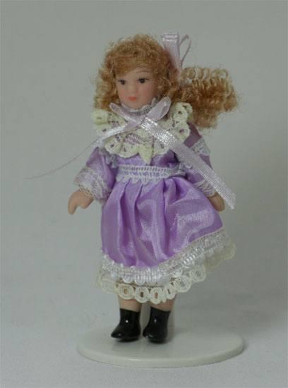 Dp046l - Nina vestido lila