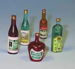 Tc0607 - Juego de botellas