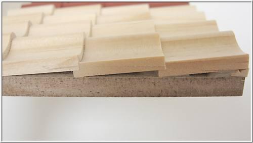 Mm70045 - Beutel mit 250 losen Dachziegeln