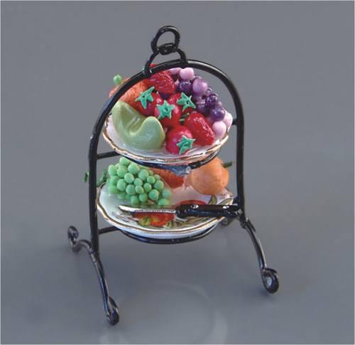 Re14968 - Doble bandeja de frutas