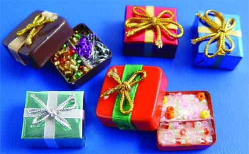 Nv0030 - Set scatole di Natale