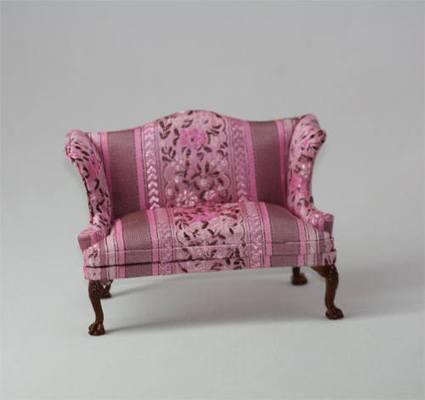 tienda de casitas sl5103 sofa rosa. Black Bedroom Furniture Sets. Home Design Ideas